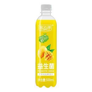 蜜(mi)沁源(yuan) 芒(mang)果味益生(sheng)菌發(fa)酵果汁500ml